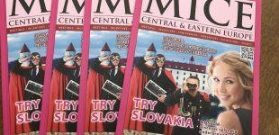 Nové vydání MICE CENTRAL & EASTERN EUROPE – Jaro
