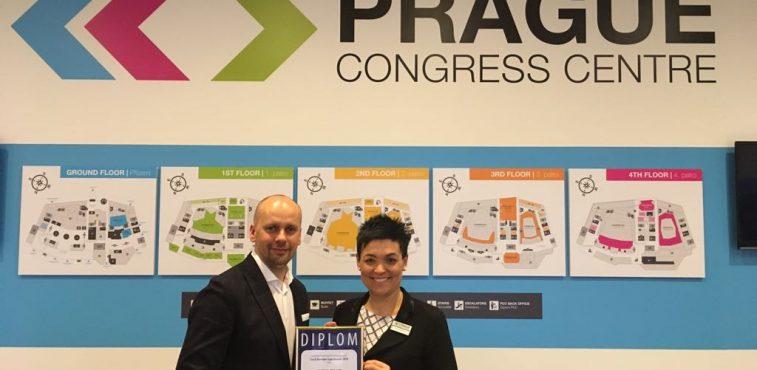 Kongresové centrum Praha získalo ocenění Czech Business Superbrands 2018