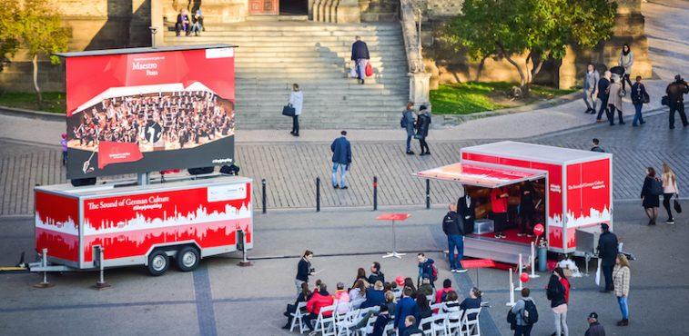Kulturní destinace Německo se představí na interaktivní koncertní tour ve střední a jihovýchodní Evropě