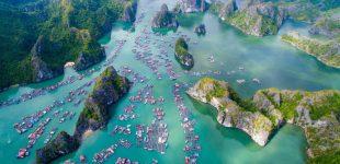 Ha Long Bay – Plavby ve znamení sestupujícího draka