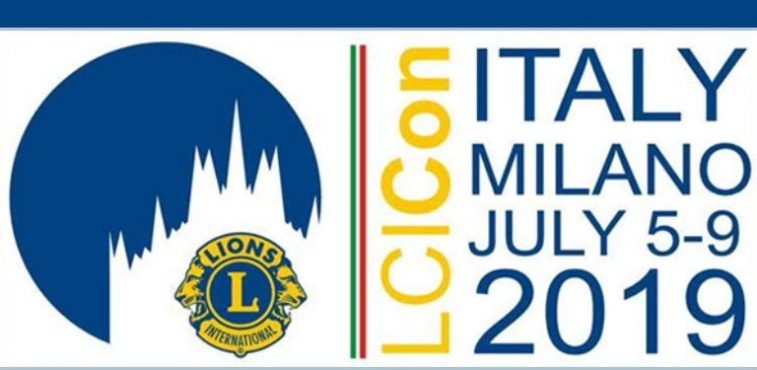 AIM Group International main partner for the mega event:  Lions Clubs World Convention Milan 2019