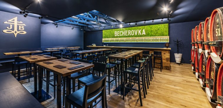 Come to explore the Becherovka Visitor's Centre in KARLOVY VARY